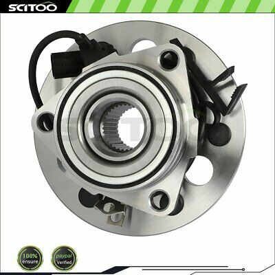 1 Front Wheel Hub & Bearing Assembly for Chevy GMC Pickup Truck Tahoe w/ABS 4WD