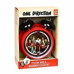 NEW 1D One Direction Twin Bell Alarm Clock FREE SHIPPING