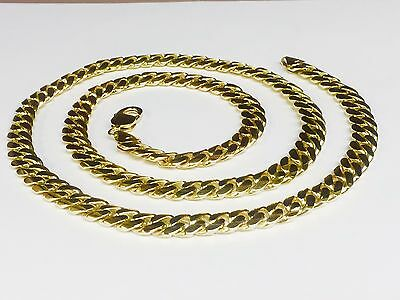 64061dc2685208 10k Solid Yellow Gold Miami Cuban Curb Link 20