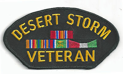 Desert Storm  Campaign Ribbon -  Iron On Patch
