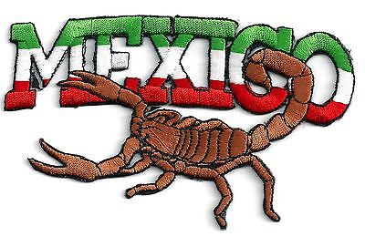 Mexico - Scorpion - Iron On Patch