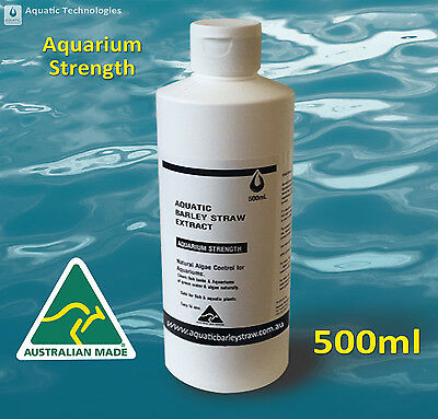 500ml Aquatic Barley Straw Extract - Aquarium Strength Algae Control