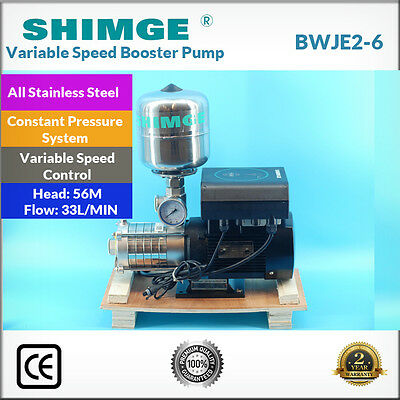 Shimge BWJE2-6 All Stainless Steel Constant Pressure Variable Speed Booster Pump