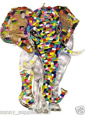 MODERN ABSTRACT ART OIL PAINTING DECOR ON CANVAS:fortune elephant (No framed)
