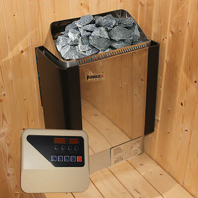 3KW/4.5KW/6KW SAUNA HEATER STOVE for HOME BATH SHOWER SPA@Stainless Steel House