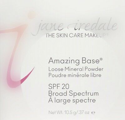 Jane Iredale Amazing Base Loose Mineral Powder Warm Sienna 0.37oz/10.5g NIB