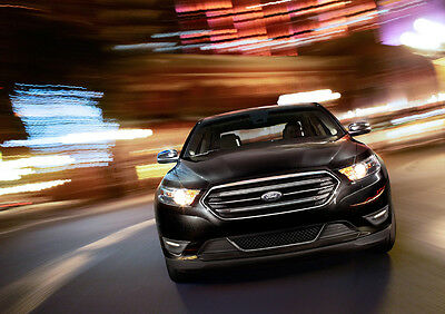 2013 Ford Taurus Limited New A2 Canvas Giclee Art Print Poster Framed