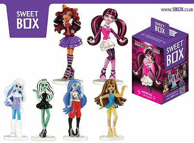 """""""MONSTER HIGH"""" sweetbox big toys from famos cartoon and chewy candy"""