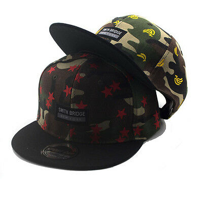 2016 Kids Child Camouflage Baseball Caps Embroidery Snapback Hip-hop Boys Girls