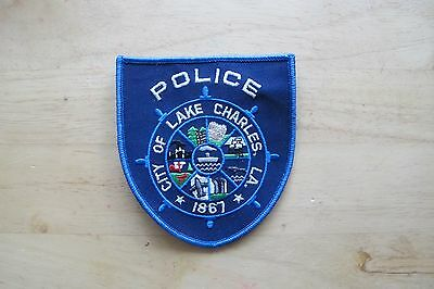 Collectible City Of Charles,la Police Applique Patch