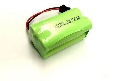 RC Toy Double E E635-001 4.8V Ni-MH 1800mAh AA (2*2) 4-Cell Battery Pack SM plug