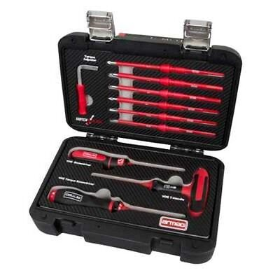 Armeg Switch-Blade 13 Piece VDE 1-6Nm Adjustable Torque Drive & Screwdriver Set