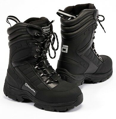 Mens snowmobile boots sz 12 fits sz 11 foot Back Hawk by altimate