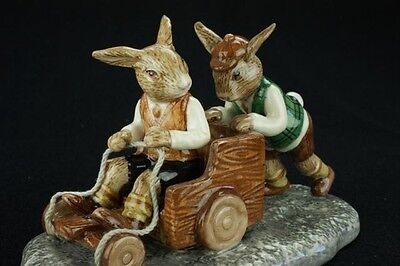 Royal Doulton Bunnykins Billycart DB491 Australian Limited Edition of 1,000