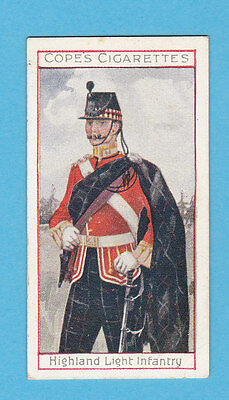 Military  -  Cope  Bros.  -  Rare Eminent British Officers Card No.  5  -  1908