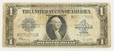1923 $1 One Dollar George Washington Silver Certificate
