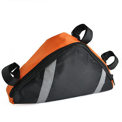 Triangle Bicycle Cycle Mountain Bike Frame Tool Bag Storage Pouch T1