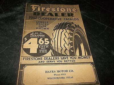 Vintage Firestone catalog 1932 Tires Batteries Picture Firestone Factories