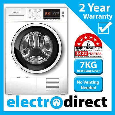 Brand New 7kg Heat Pump Condenser Dryer with 21 Programs / Functions Large LED