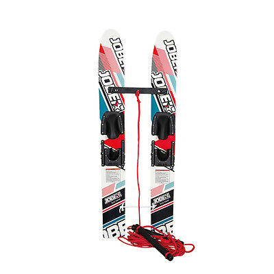 "Jobe Buzz Trainers 46"" Kids Water Ski Combo Pair - Includes Bindings"