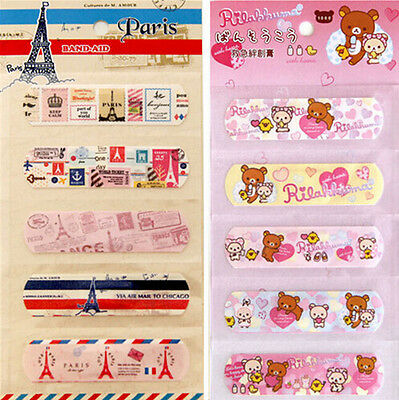 Waterproof Cute Cartoon Design Band-aid Bandages Band Aid For Children Kids 20pc