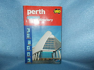 UBD Perth Street Directory Compact 1st Edition As New 2005