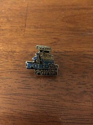 Ford Power Hat , Lapel Pin Blue
