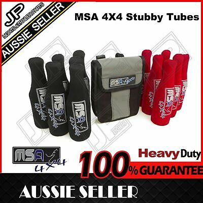 Msa 4X4 Stubby Tubes Sts With Bag For Waeco & Engel Fridge Hiking Camping 4Wd