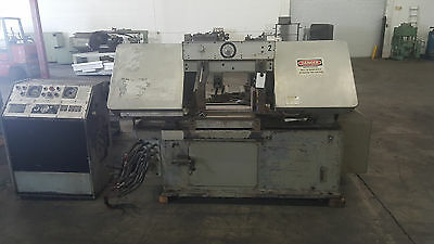 "15"" X 20"" Marvel Model 15A Automatic Horizontal Bandsaw With Console Low Price!!"