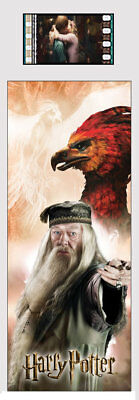 Harry Potter : DUMBLEDORE & FAWKES Film Cell Bookmark from Trendsetters