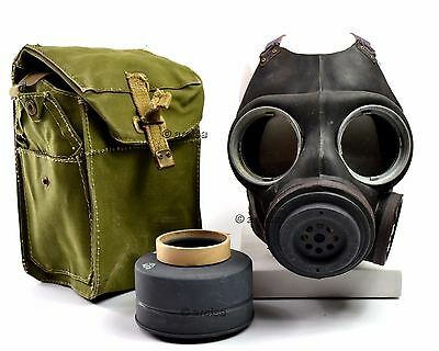 WWII British / Danish gas mask M45 Old vintage army military gas mask Large size