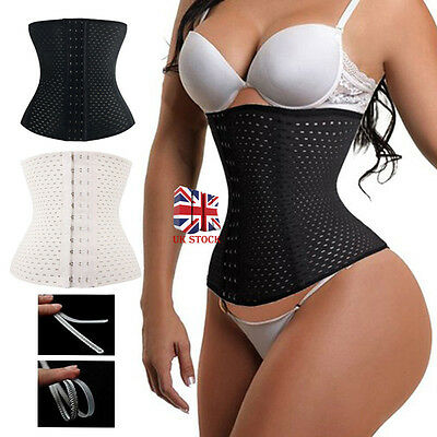 Slimming Body Waist Shaper Training Trainer Tummy Tight Cincher Girdle Corset UK