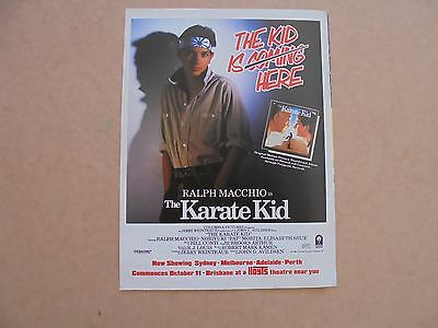 The Karate Kid ad_MAGAZINE CLIPPINGS_ships from AUS!__4N