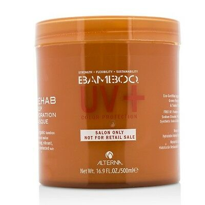 Alterna Bamboo Color Hold+ Color Protection Rehab Deep Hydration Masque 500ml