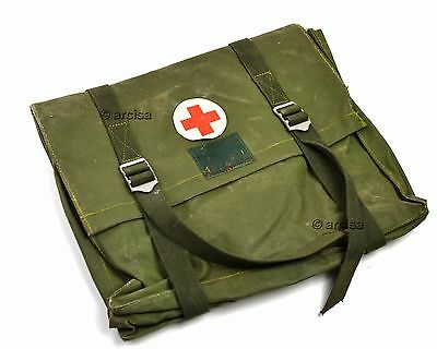 Swedish Sweden army military Medic bag. First aid medicine carrying bag.
