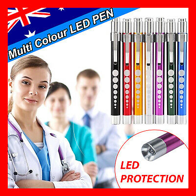 Medical Pen LED Light Pocket Torch Reusable Emergency Doctor Nurse Surgical