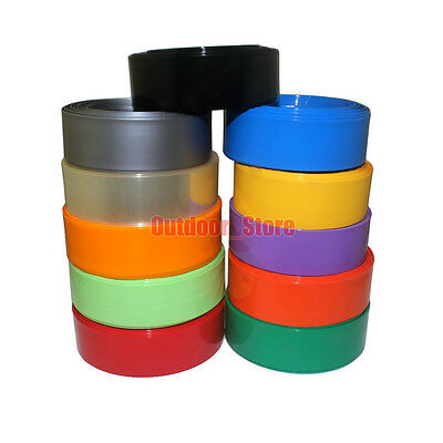 (7mm~49mm) New PVC Heat Shrink Tubing Wrap (11 Color)