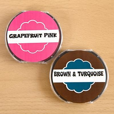 PSA Essentials 2 Pack of Ink - Grapefruit Pink and Brown with Tur