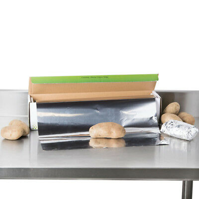 "Choice 18"" x 500' Food Service Heavy-Duty Aluminum Foil Roll 12218X5HD"