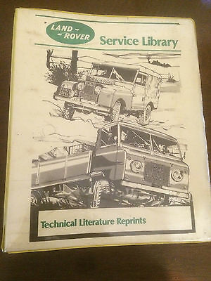 LAND ROVER SERIES Service Library Parts Catalogue Series I 1954-1958