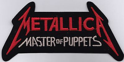 METALLICA - MASTER OF PUPPETS - IRON or SEW ON PATCH