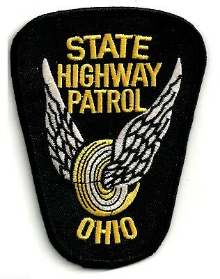 Ohio State Highway Patrol - Shoulder - Iron On Patch