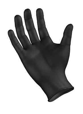 1000 XL BLACK NITRILE GLOVES Textured - Latex and Powder-Free -6 mil