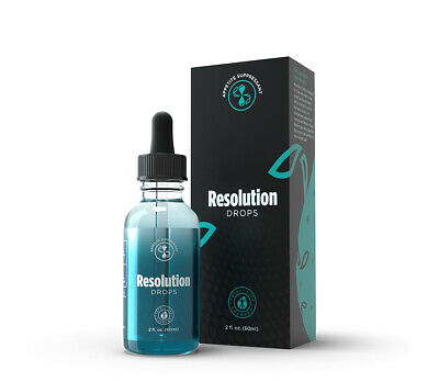 Iaso RESOLUTION Diet Drops - TLC - Weight Loss Energy Metabolism NEW BLUE BOTTLE