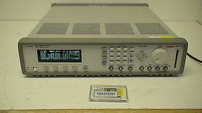 Agilent 81130A  Pulse/Pattern Generator 2 Ch, 1 Hz to 400 MHz, 800 Mbit/s, 3.8 V