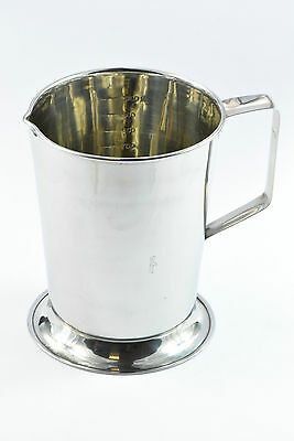 Surgical Veterinary Medical St Steel Graduated Measuring Jug 1000 ML  CE New