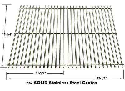 Weber 89930 Stainless Grates For Genesis Silver B & C, Platinum B & C Gas Models