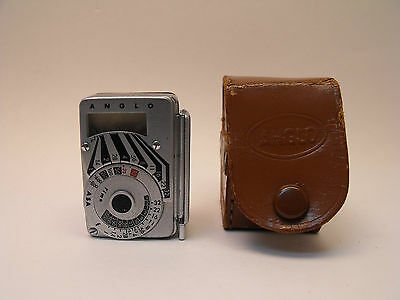 Anglo Light Meter With Case ID 34160