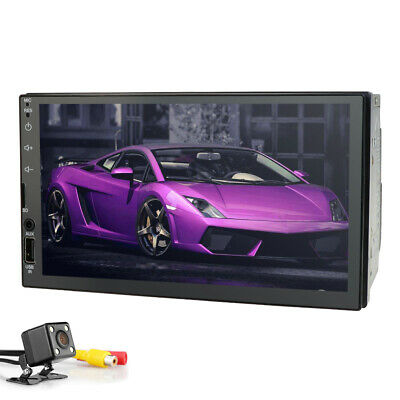 Double 2 Din AUTO Car DVD CD MP3 Player Touch Screen In Dash Stereo Radio BT GPS