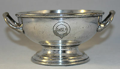 Antique Victorian Silver Plate Bowl By John Sherwood & Sons 1858-96